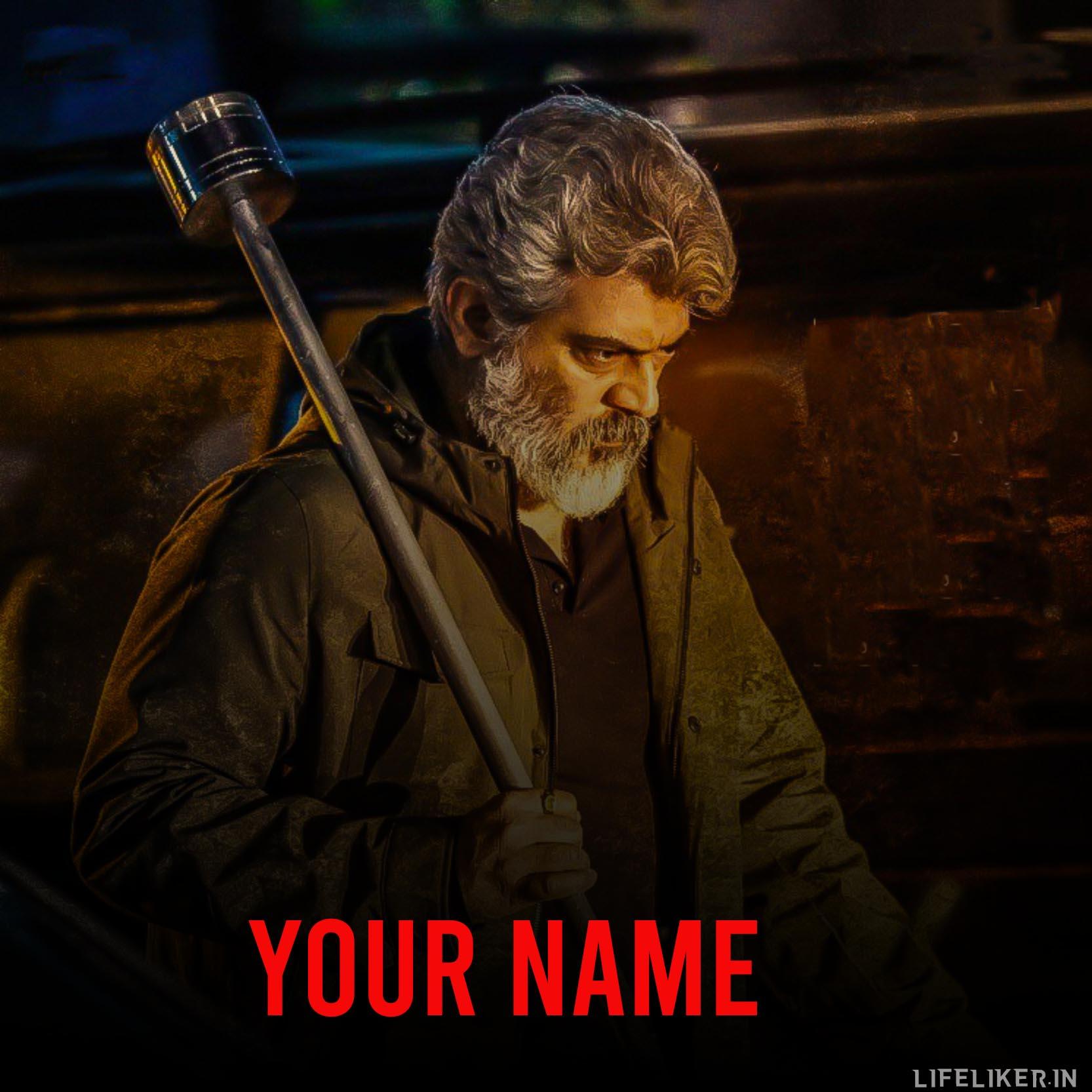 Ajith Movie Font Genertor - Life Liker