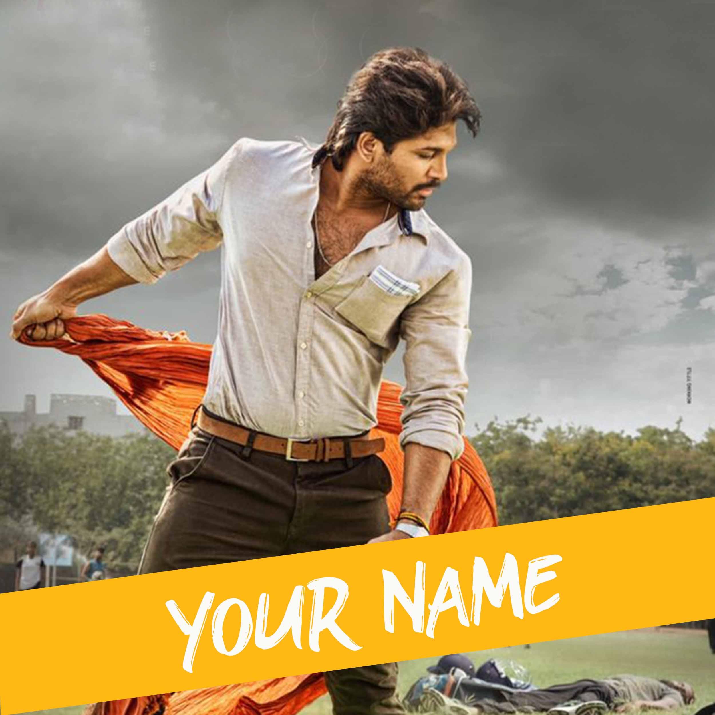 Ala Vaikunthapurramloo Movie Font Generator