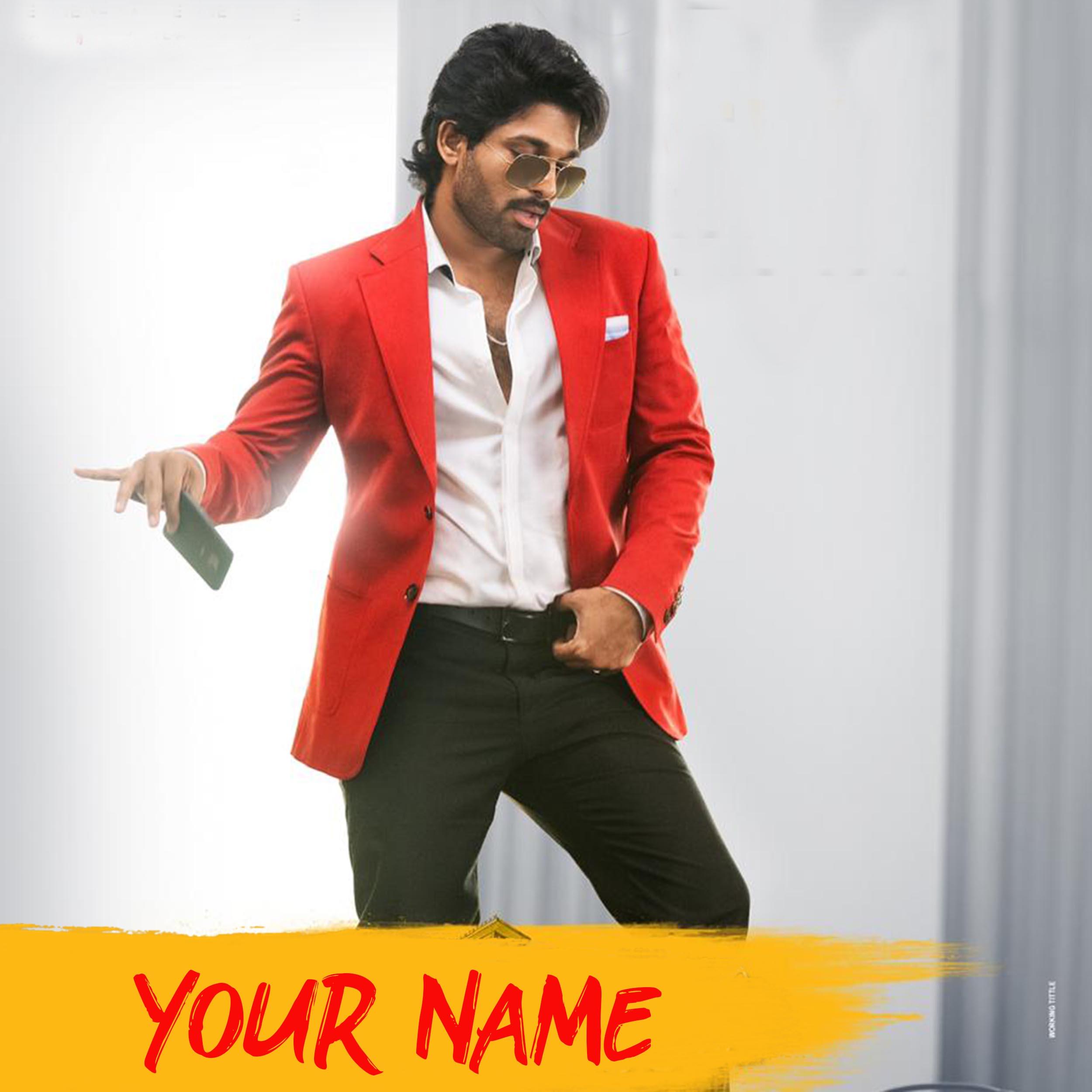 Allu Arjun Movie Font