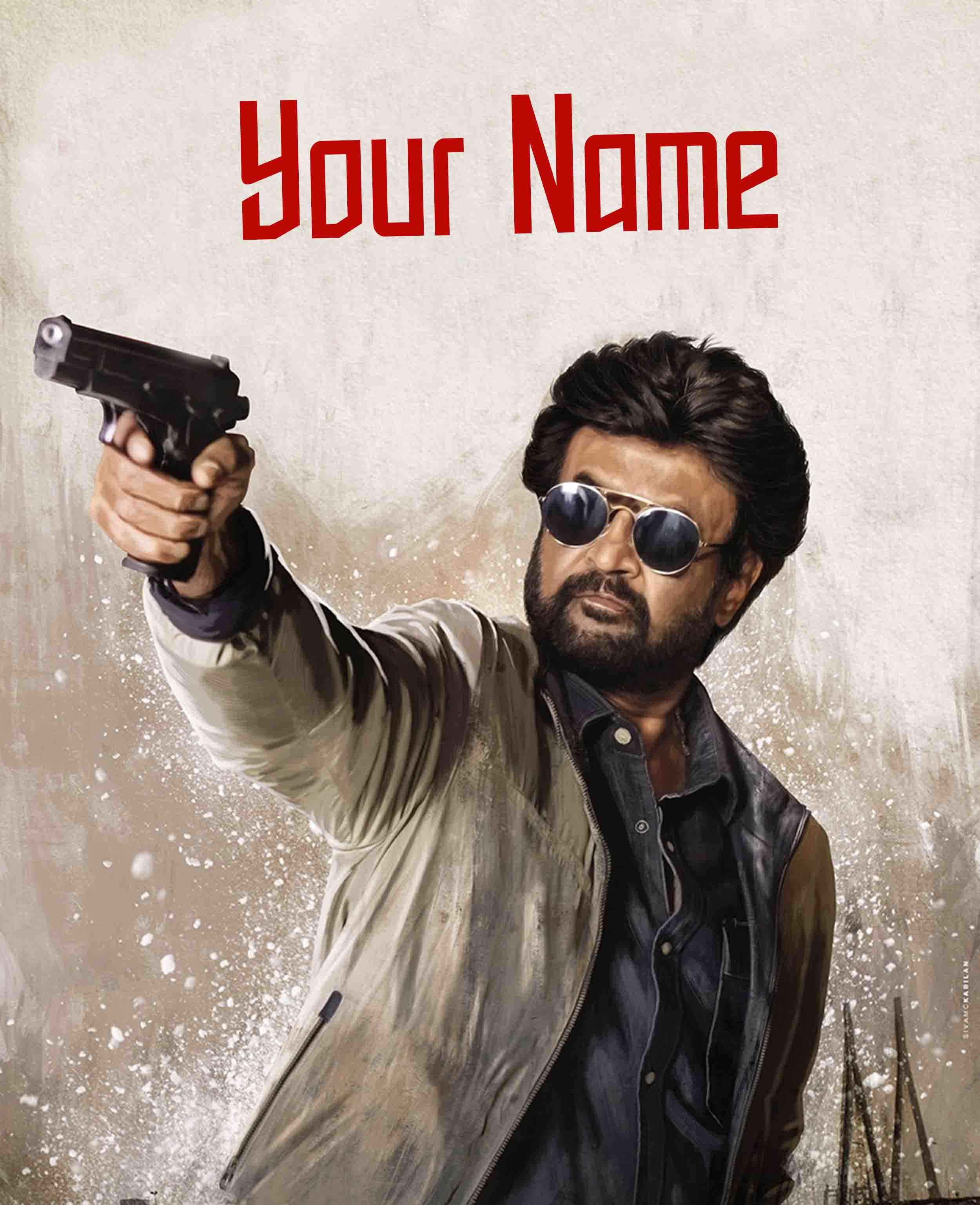 Darbar Movie Font