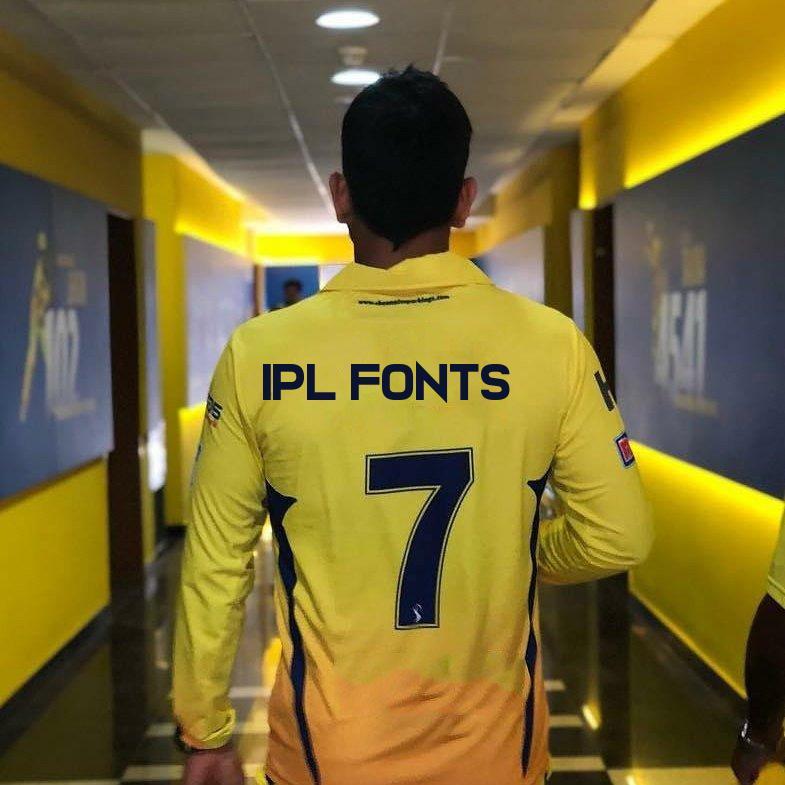 IPL Font Generator