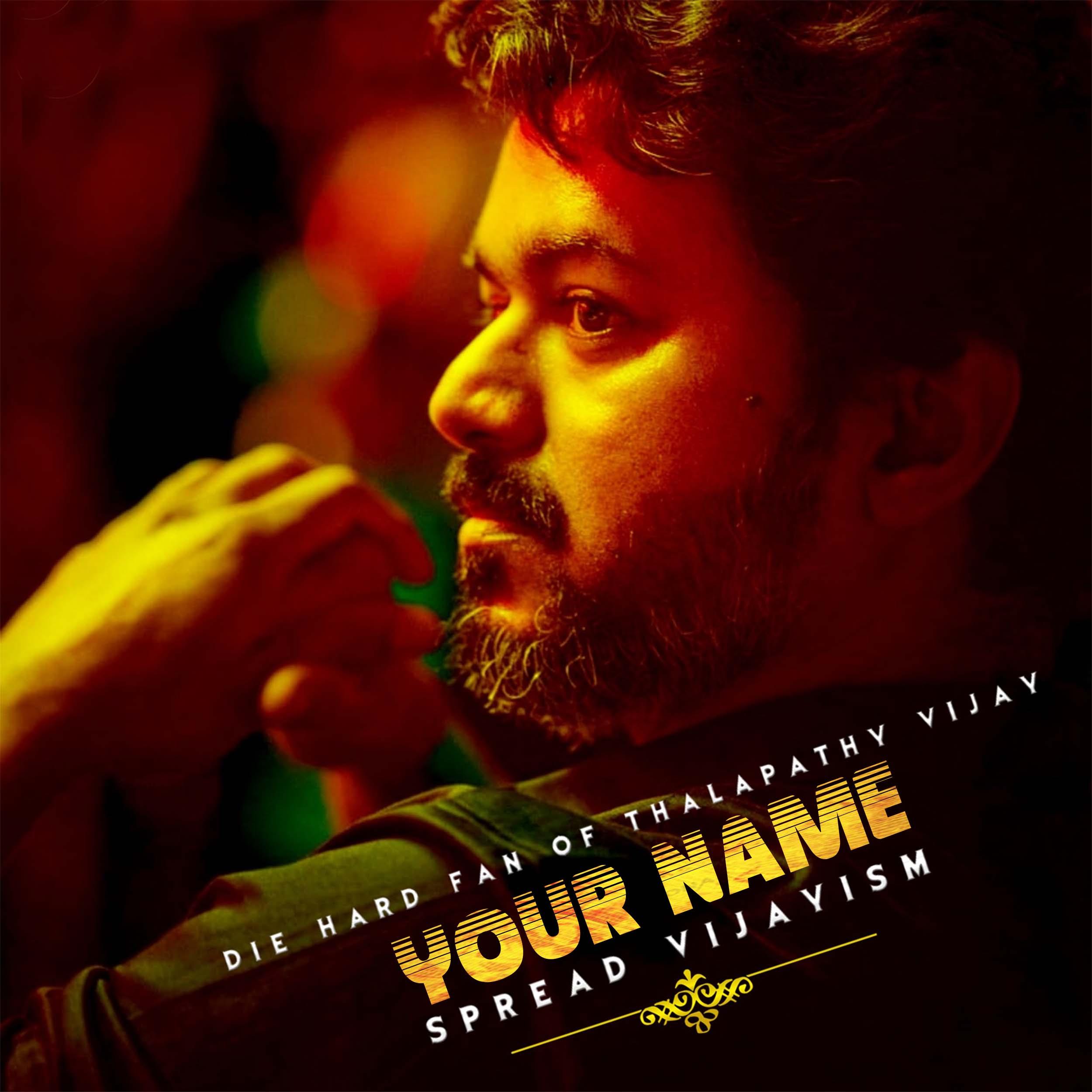 Vijay Movie Font